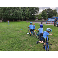 KS1 Bike and Scooter Club - a slalom!