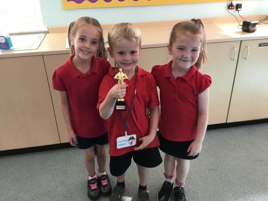 7/9/21 Class three won a trophy for our beautiful singing and great effort!