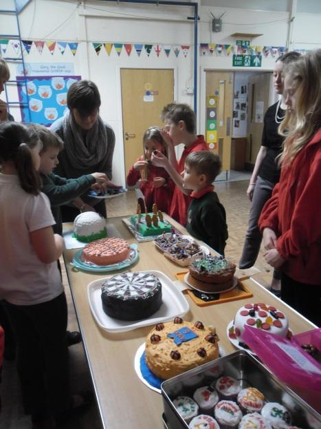 Sports Relief Cake Bake Off