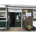 Main Office Reception for school