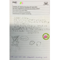 Edie enjoyed writing about the things she does to help protect the planet.