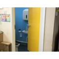 Classroom toilet