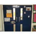 Indoor classroom entrance