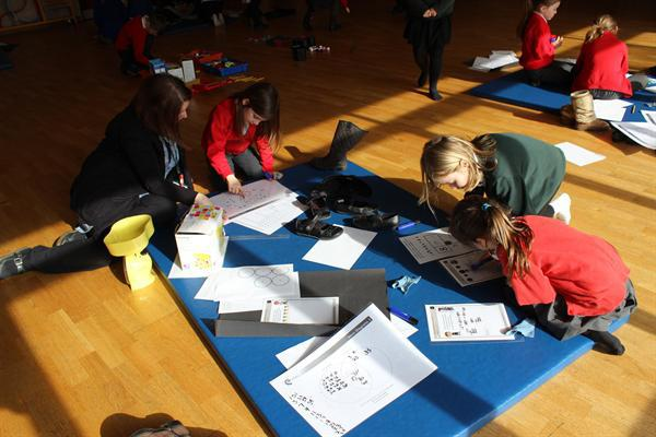 Maths problem solving with cluster schools