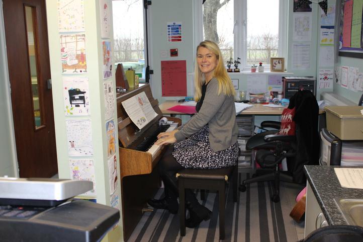 Mrs Carey - Music Teacher