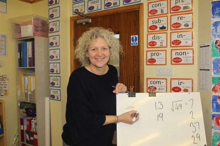 Mrs Thomas - Class Teacher