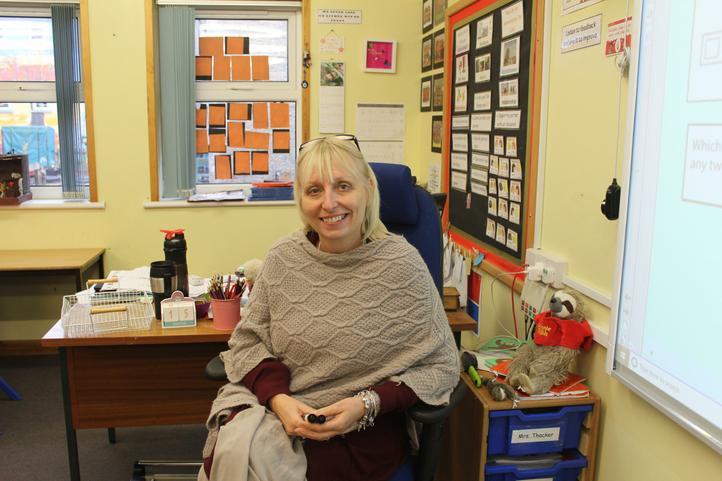 Mrs Thacker - KS2 Leader