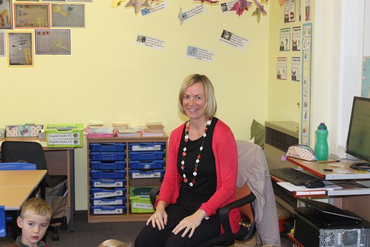 Mrs Holden - Class Teacher