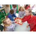 Tuesday - Slime colour mixing