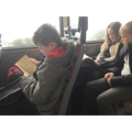 In year 5 we love to read everywhere