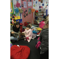 Grace's Mum reading one of our favourite stories.