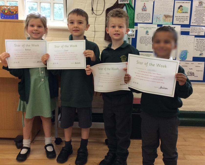 Shining Star of the week 11th Oct 2019