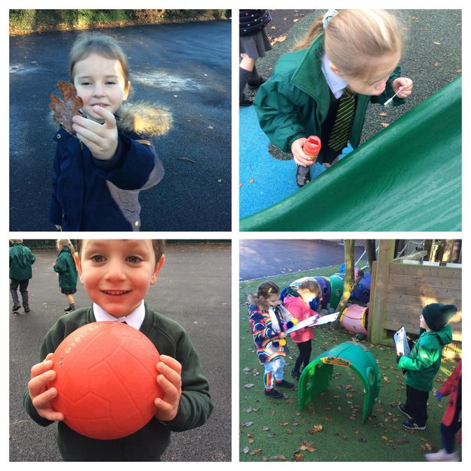 Bubbles and Outdoor Exploring