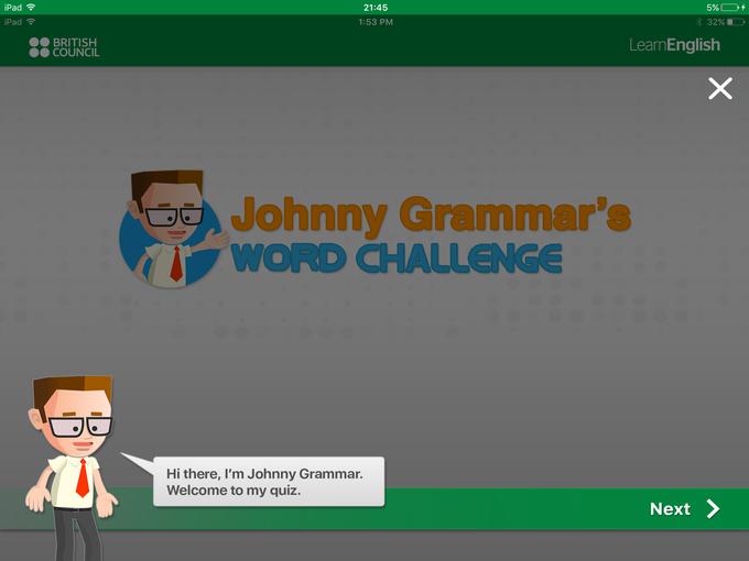 British Council: Word challenge (free)