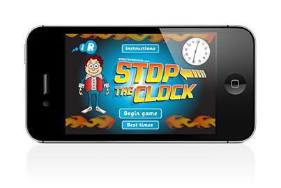 Stop the clock (and learn the time - free)