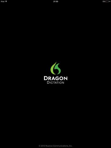 Dragon dictation (free)