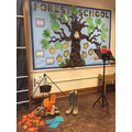 Bringing the Forest feel to the hall