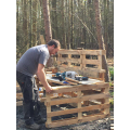 Making a marvellous mud kitchen