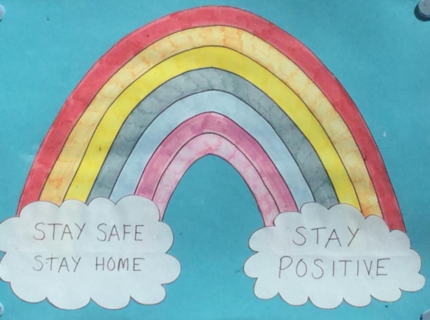 Mrs Meek's rainbow