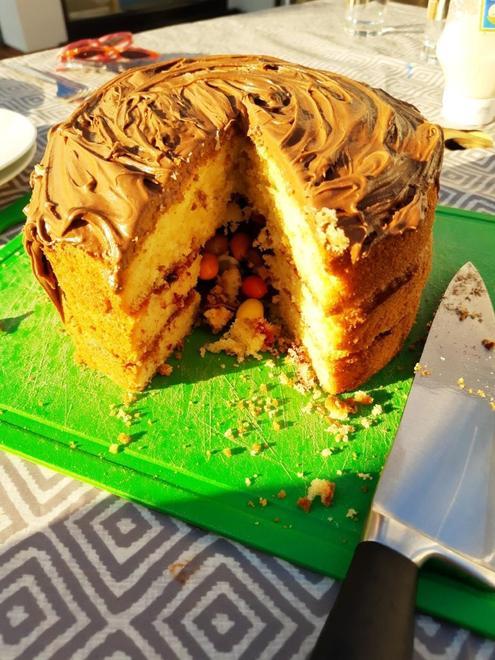 Sweetie cake for V.E. Day!