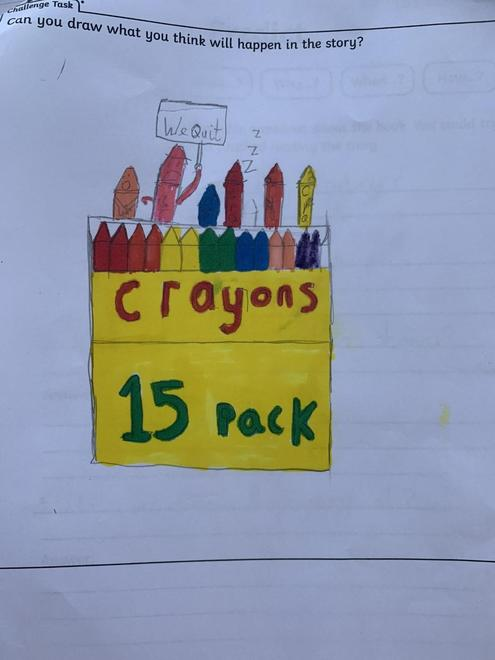 The Crayons Quit!
