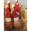 Santa-eggs!