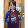 Finn and his Lapbook