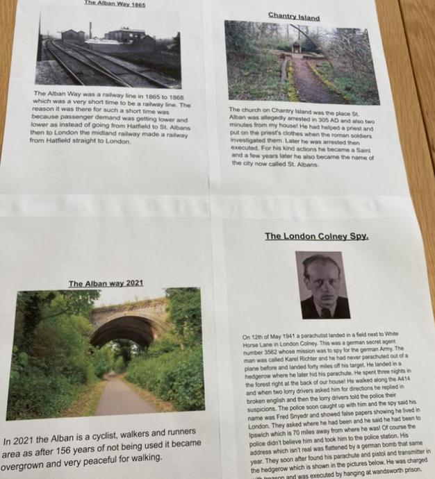 Aaron's Hertfordshire Project