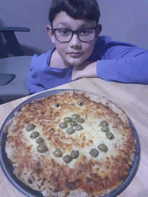 Who likes olives on their pizza ?