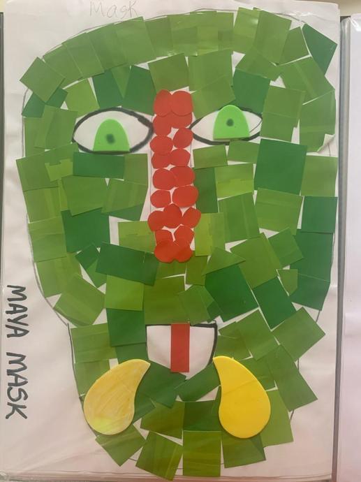 Flavio's Maya Mask