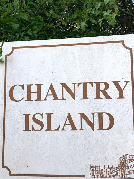 Aaron visited Chantry Island for his Hertfordshire Project.