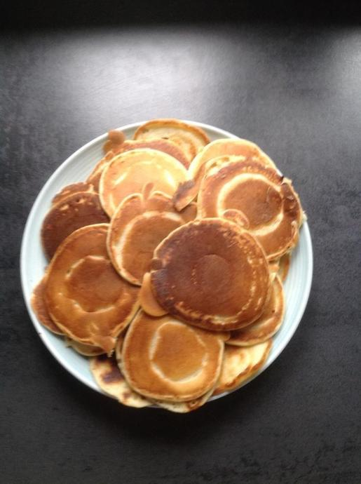 Delicious pancakes in Hanna's house