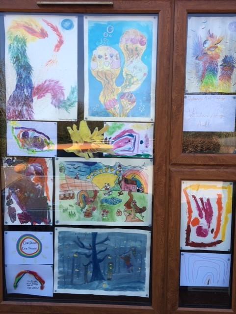 Fabulous creativity from local artist, Catharine.