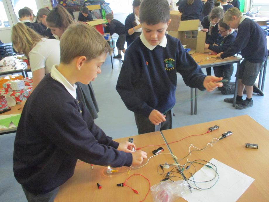 Testing the circuit before it is installed.