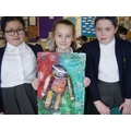 Emi, Ava and Freya Looking Proud of their Final Piece!