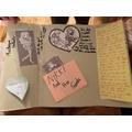 Lots to explore inside Elizabeth's Lapbook.