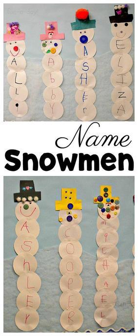 Make a snowman name