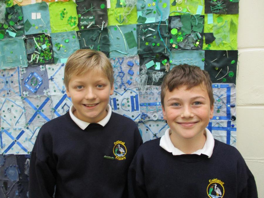 Eco Leaders - Harrison and Oliver
