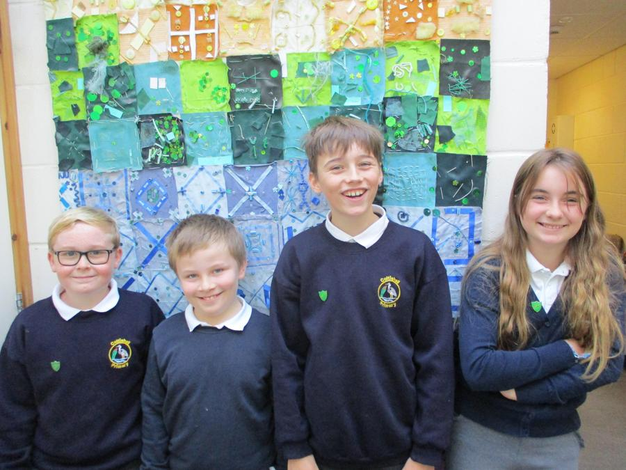 Greenfinch House Captains - Jimmy and Jasmine Greenfinch Vice Captains - Nate and Karl