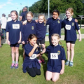 X-Country U11 Girls Champions Sep 2016