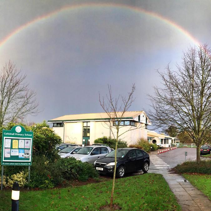 """Coltishall Rainbow"" by Governor Gavin McKee"