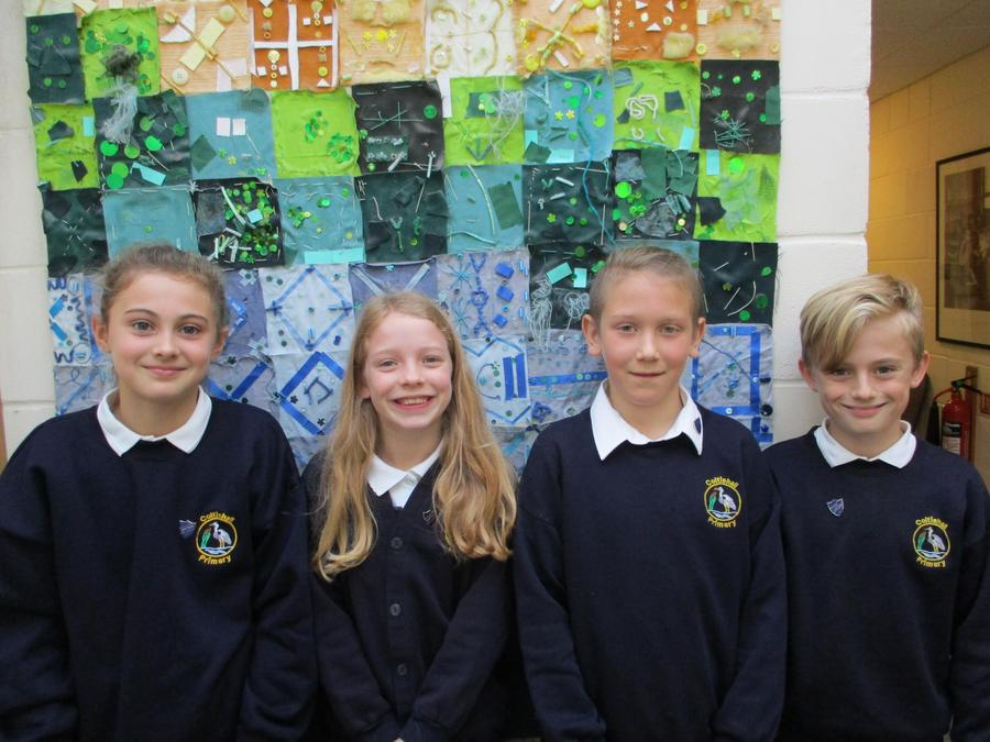 Kingfisher House Captains - Amelia and Layla Kingfisher Vice Captains - Charlie and Oli