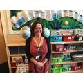 Mrs Negus Reception Teaching Assistant