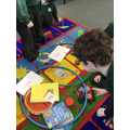 Sorting materials by property
