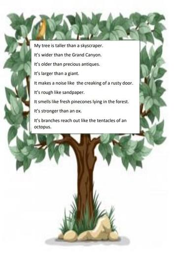 Mr Pinkerton's tree poem