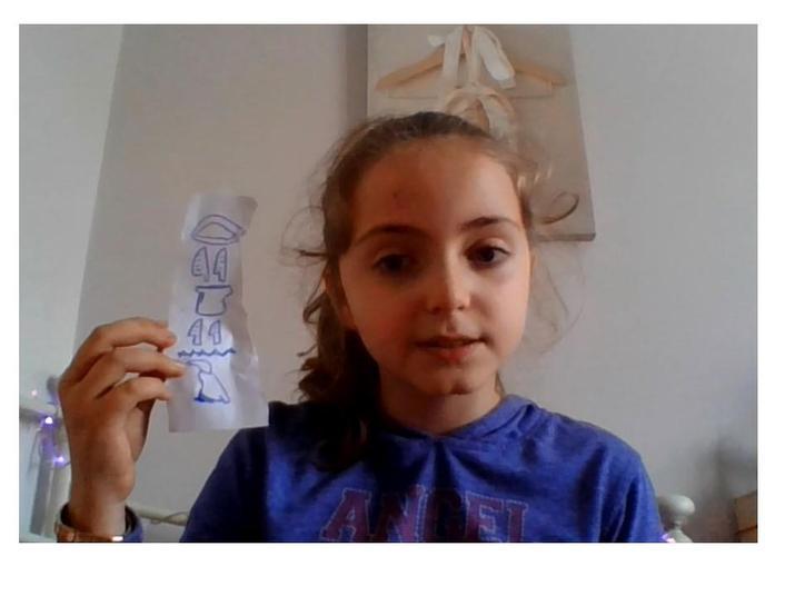 Regina's fab Hieroglyphics