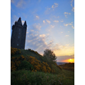Sunrise at Scrabo Tower