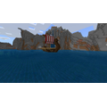 Emily D's longship sailing up a Fjord!
