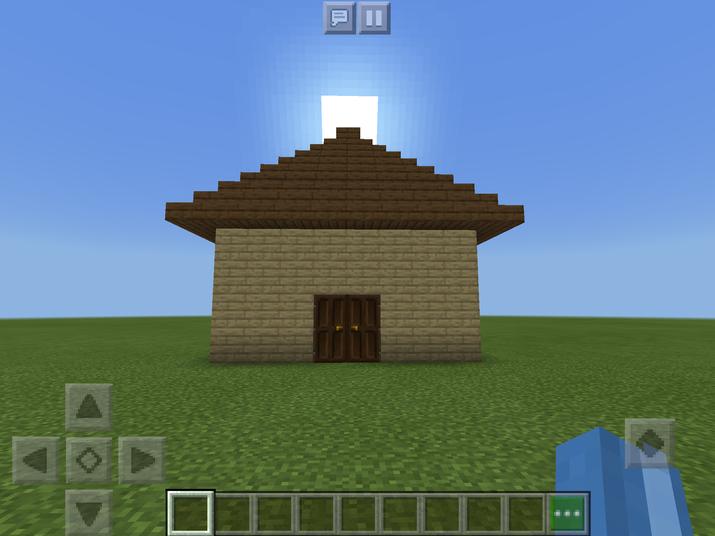 Emily H's Minecraft House! Super job!
