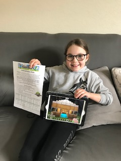 Holly's Minecraft challenge
